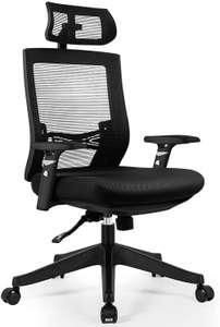 Chaise de Bureau Aiidoits - Soutien Lombaire/Accoudoirs ajustables (Vendeur tiers)