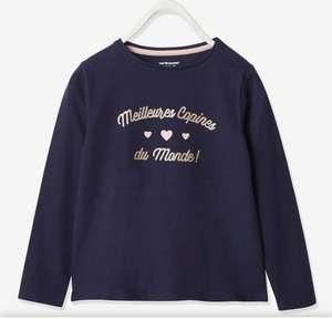 Sélection d'articles à partir de 2€ - Ex : T-shirt fille manches longues Okeo TeX pour Fille