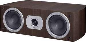 Enceinte centrale Heco Victa Prime Center 102 - Bass Reflex 2 voies, 85 W RMS (150 W crête), 35 Hz > 40 kHz, coloris espresso