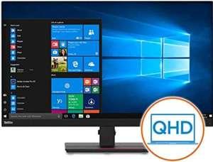 """Ecran 32"""" Lenovo ThinkVision T32H-20 Pro (61F1GAT2EU) - QHD (2560x1440) avec USB Type-C, IPS (Réglable hauteur, pivotable, inclinable)"""