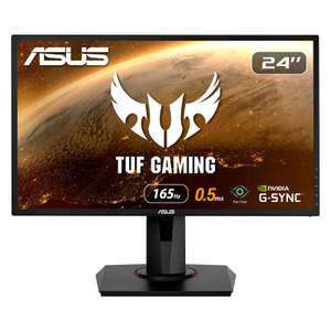 "Écran PC 24"" Asus VG248QG - Full HD, 165 Hz, Dalle TN, 0.5 ms, Compatible G-Sync (Via ODR de 15€)"