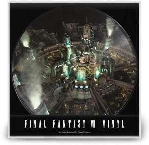 Sélection de vinyles de jeux-vidéo en promotion - Ex : vinyle Final Fantasy VII Picture Disc