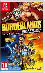 Sélection de jeux en promotion sur nintendo switch - Ex: Borderlands Legendary Collection (dématérialisé)