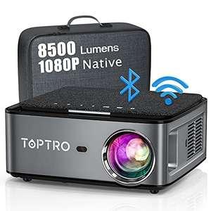 Vidéo-projecteur Toptro X1 - 1080p, 8500 lumens, Bluetooth / Wi-Fi, son SRS (vendeur tiers)