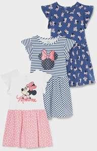 20% de réduction sur sélection de vêtements - Ex: 3 robes Minnie coton bio (Tailles au choix)