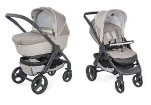 Poussette Chicco Duo StyleGo Up - Beige clair