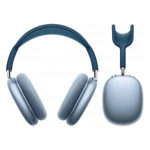Casque audio sans-fil à réduction de bruit active Apple AirPods Max (Argent ou Bleu)