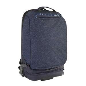Valise souple à roulettes Kipsta Intensif - 30L, Bleue nuit