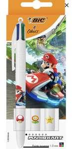 Pack de 3 Stylos BIC 4 Couleurs Mario Kart