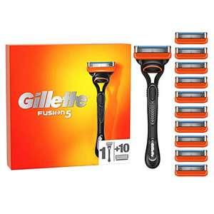 Rasoir manuel Gillette Fusion5 + 10 Lames