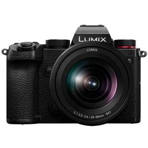 Appareil photo Panasonic Lumix S5 + Objectif 20-60mm F3.5-5.6 (Frontaliers Suisse)