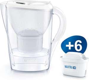 Carafe filtrante Brita Marella blanche - 6 filtres Maxtra+ inclus (Kaffekapslen.fr)