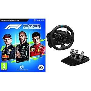 Pack F1 2021 (Xbox Series X et Xbox One) + Volant de Course et Pédalier Logitech G923 TrueForce pour Xbox et PC