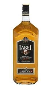 Bouteille Whisky Label 5 - 1L (Via 6.04€ sur la carte fidélité)