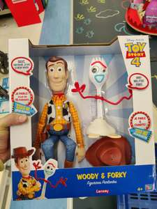 Pack de 2 figurines parlantes Lansay Toy Story 4 Woody & Forky - Perpignan (66)