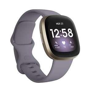 Montre connectée Fitbit Versa 3 - noir