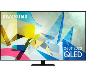 "TV 65"" Samsung QE65Q80T 2020 - 4K UHD, QLED, 100 Hz, HDR 10+, Smart TV (Frontaliers Suisse)"