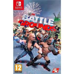 Jeu 2K Wwe Battlegrounds sur Nintendo Switch