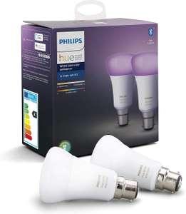 Ampoules LED connectées Philips Hue White & Color Ambiance B22