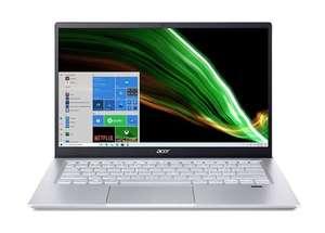 """PC Ultra-Portable 14"""" Acer Swift X - Ryzen 5 5600U, RTX 3050, 16 Go RAM, 512 Go SSD - Bleu"""
