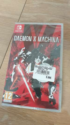 Daemon X Machina sur Nintendo Switch (Argentan 61)