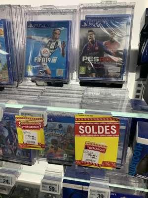 FIFA 19 ou PES 2019 sur PS4 à 1€ (Saint-Isidore 06)