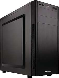Boîtier PC Corsair Carbide 100R Silent Edition - Noir, ATX, Moyen Tour