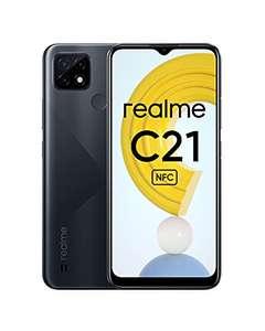"""Smartphone 6.5"""" Realme C21 - HD+, Helio G35, 4 Go RAM, 64 Go, 5000mAh"""