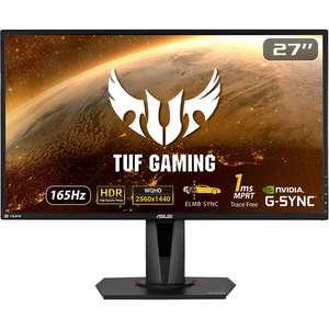 "Écran PC 27"" Asus TUF VG27AQ - LED IPS, QHD, HDR, 155 Hz / 165 Hz OC, 1 ms (via ODR de 35€)"