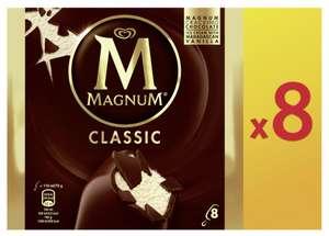 Lot de 3 boites de 8 bâtonnets de glace Magnum