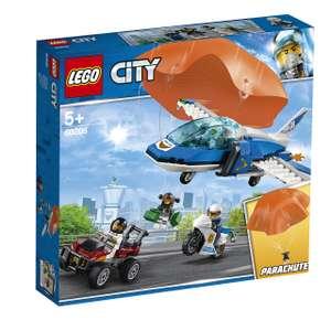 Jeu de construction Lego City - L'arrestation en parachute n°60208