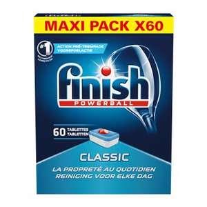 2 Packs de 60 Tablettes lave-vaisselle Finish Classic - 978g