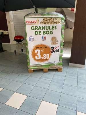 Sac de pellets de boisPelleo Dinplus 15 kg - Montbéliard (25)