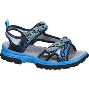 Sandales de Randonnée Quechua MH120 TW pour Enfant - Bleues, Tailles 28 à 39