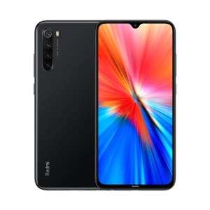 """Smartphone 6.3"""" Xiaomi Redmi Note 8 (2021) - Double SIM, 4 Go RAM, 64 Go ROM, noir (Entrepôt FR)"""