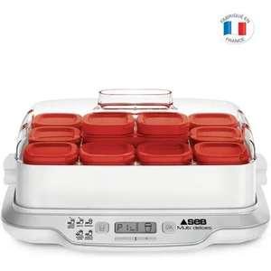 Yaourtière Seb Multidélices Express YG661500 - 12 pots de 140 ml