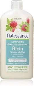 Shampooing à l'huile de ricin et kératine végétale Natessance - 500 mL