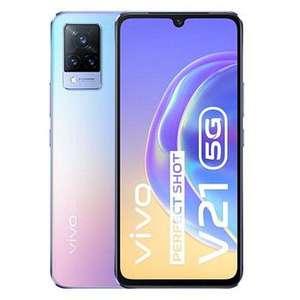 "Smartphone 6.44"" Vivo V21 5G (Bleu Flamboyant) - Dimensity 800U, 8Go RAM, 128Go ROM"