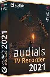 Logiciel Audials TV Recorder 2021 Gratuit sur PC - Licence à vie (Dématérialisé)