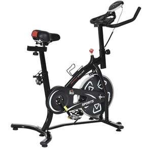 Vélo d'appartement cardio vélo biking Homcom - noir