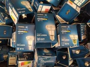 Sélection d'ampoules Livarnolux LED E27, E14 et GU10 à 1€ - Taillecourt (25)