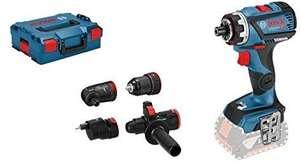 Coffret perceuse-visseuse Bosch GSR 18V-60 FC Professional Solo - avec 3 têtes, sans batterie, ni chargeur