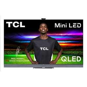 "TV Mini LED QLED 55"" TCL 55C825 - 4K UHD, HDR10+, QLED, Android TV, Dolby Atmos & Vision, son Onkyo (via ODR de 100€)"