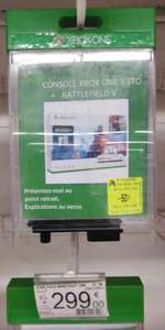 50% de réduction sur une sélection de consoles et accessoires - Ex : Console Microsoft Xbox One S All Digital (Fontenay 94)