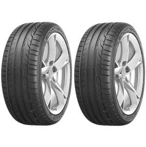 Jusqu'à 80€ en ticket E.Leclerc sur les pneus Dunlop - Ex : Lot de 2 Pneus Dunlop Sport Maxx RT - 225/40 R18 92Y (Via 40€ sur la carte)