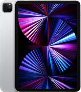 "Tablette tactile 11"" Apple iPad Pro 11 (2021) - Retina, M1, 8 Go de RAM, 1 To, 5G + Wi-Fi, argent"