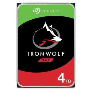 """Disque dur interne 3.5"""" Seagate IronWolf NAS - 4 To, 5900 trs/min, CMR (ST4000VN008)"""