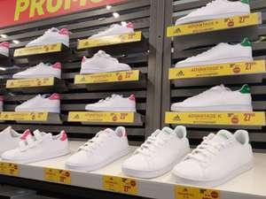 Chaussures adidas Advantage K - blanc/rose ou blanc/vert (du 35 au 38.5) - Saint-Géréon (44)
