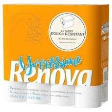Sélection de produits d'hygiène en promotion - Ex : paquet de 32 rouleaux de papier toilette Renova Yorrissime (via 6.99€ en fidélité)