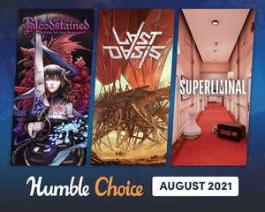 Humble Bundle Choice Août 2021 : Bloodstained: Ritual of the Night + 11 Jeux sur PC (Dématérialisé - Steam)